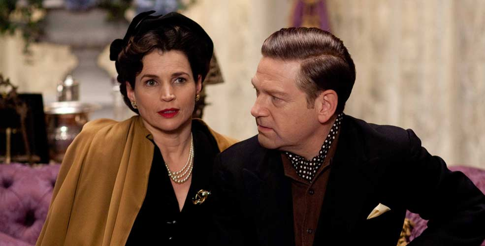 Julia Ormond y Kenneth Branagh en Mi semana con Marilyn