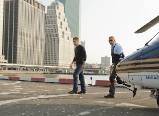 Chris Pine y Kevin Costner en Jack Ryan
