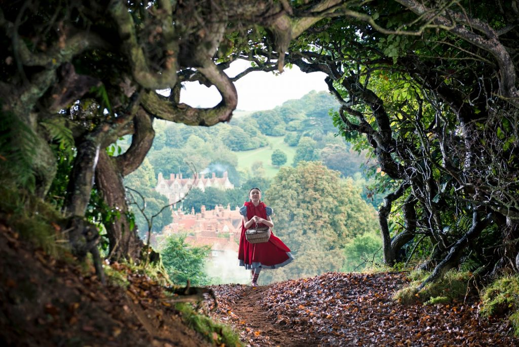 Caperucita Roja en Into the woods