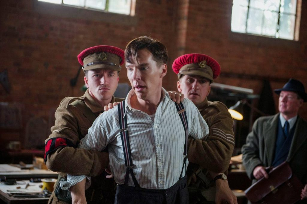 Benedict Cumberbatch en 'The imitation game'