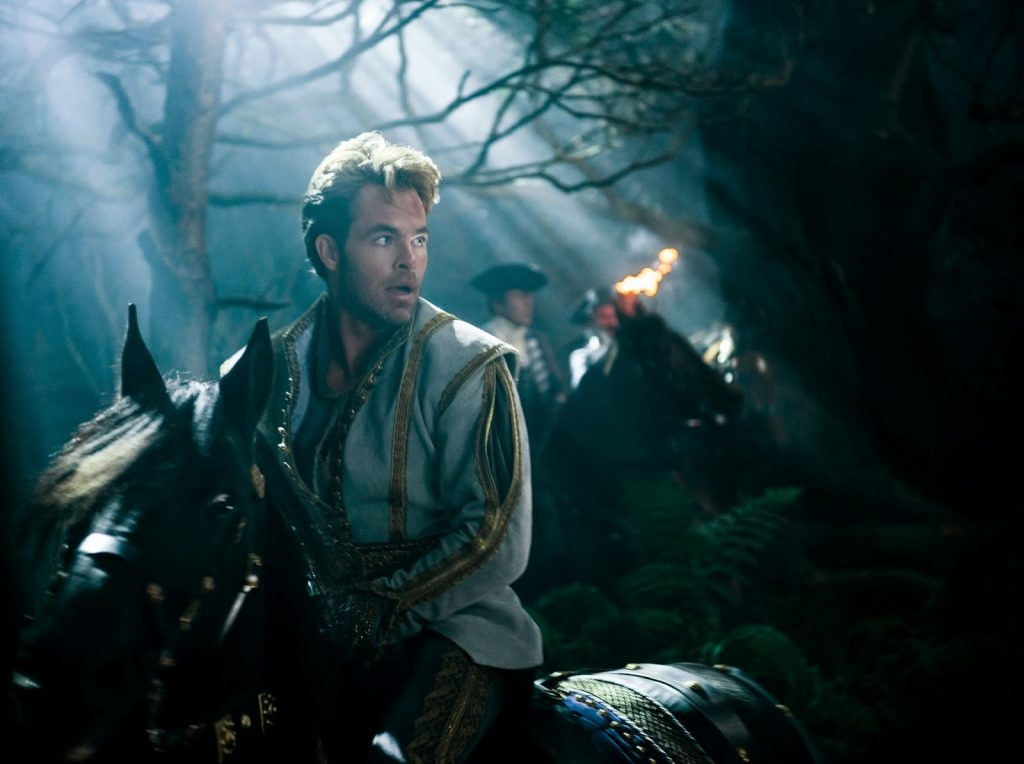 Chris Pine en Into the woods