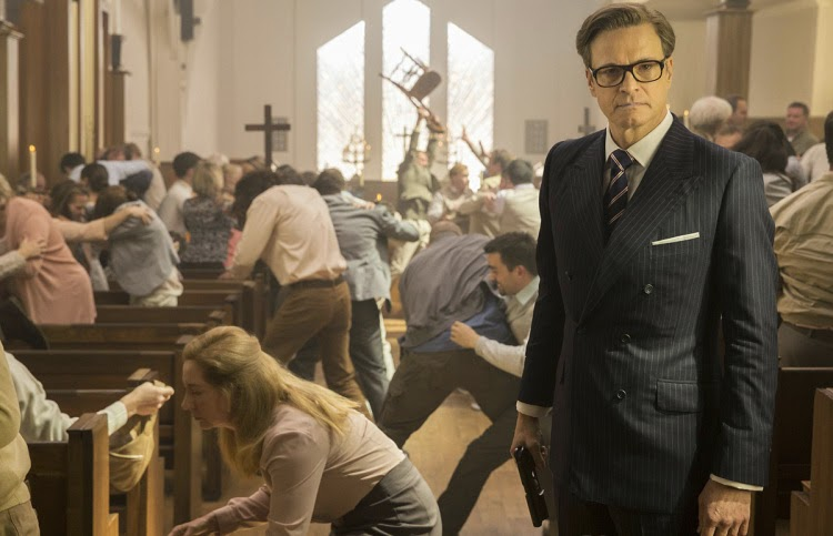 Colin Firth en Kingsman: Servicio Secreto