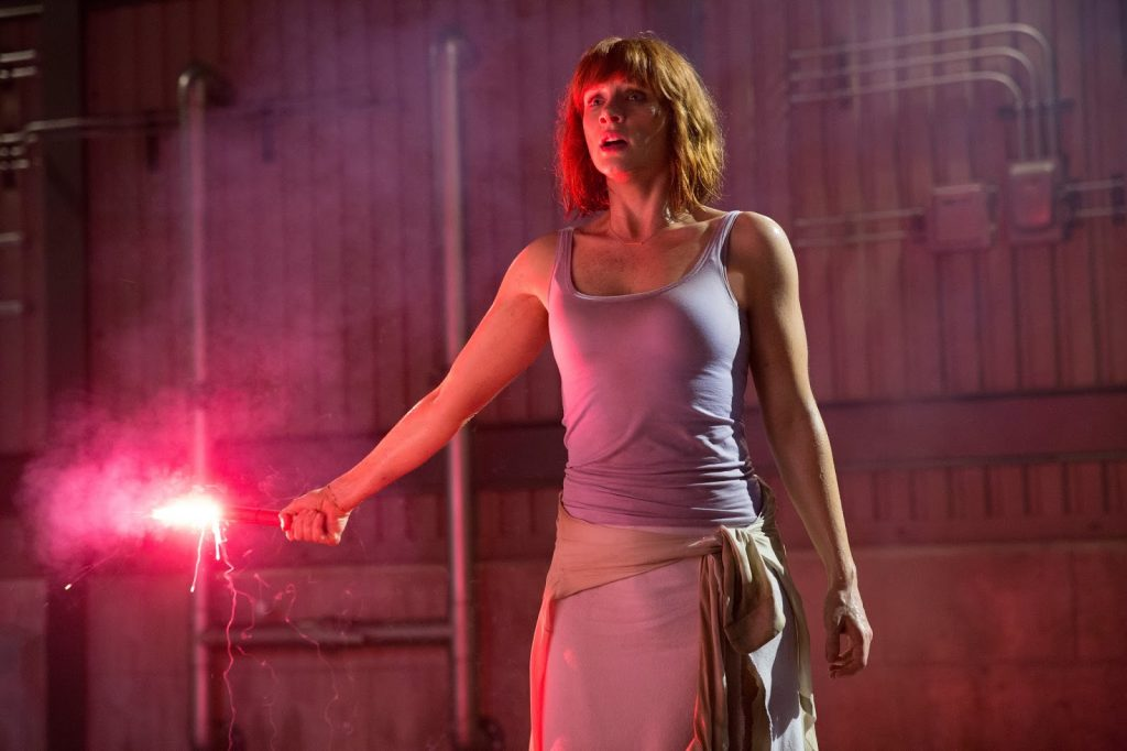 Bryce Dallas Howard en Jurassic World