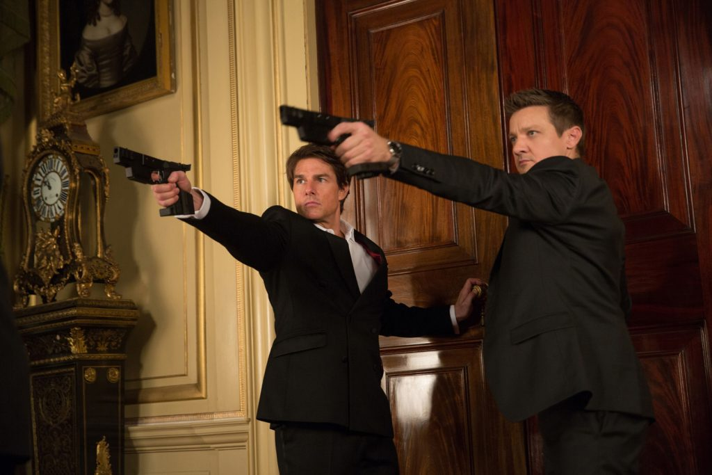 Tom Cruise y Jeremy Renner
