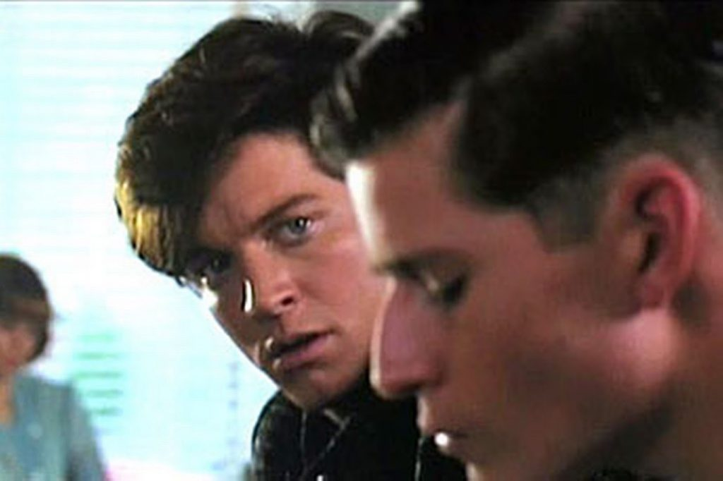 Eric Stoltz en Back in time