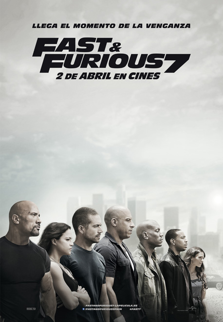 Póster de Far & Furious 7