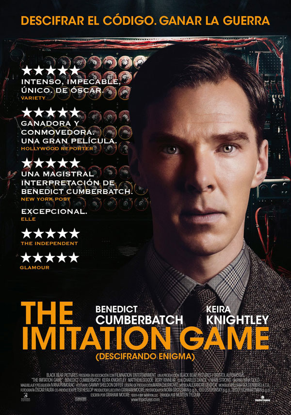 Póster de The imitarion game