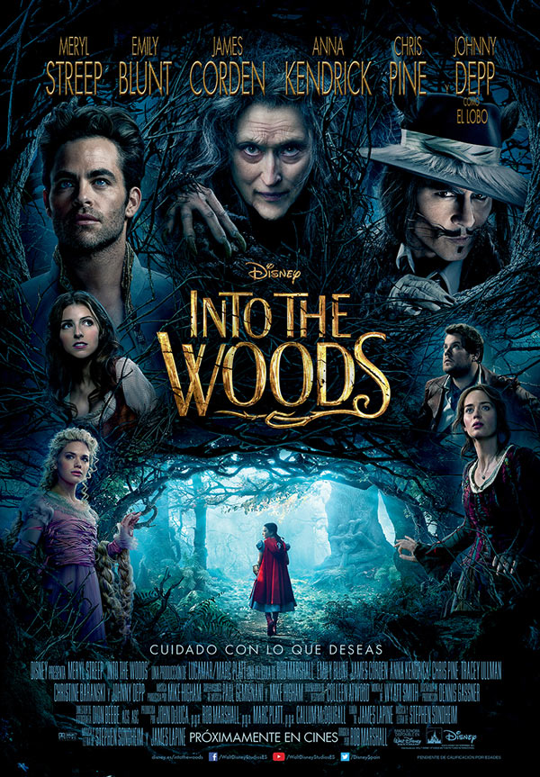 Póster de Into the woods