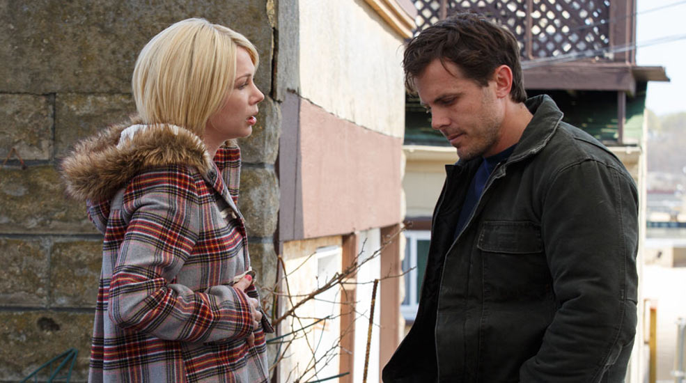 Michelle Williams y Casey Affleck en Manchester frente al mar