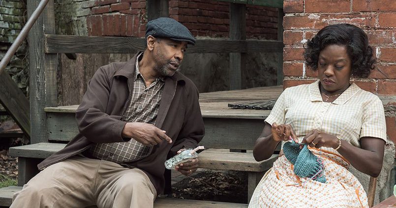 Denzel Washington y Viola Davis en Fences