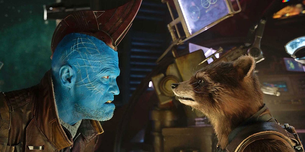 Yondu y Rocket en Guardianes de la Galaxia Vol. 2