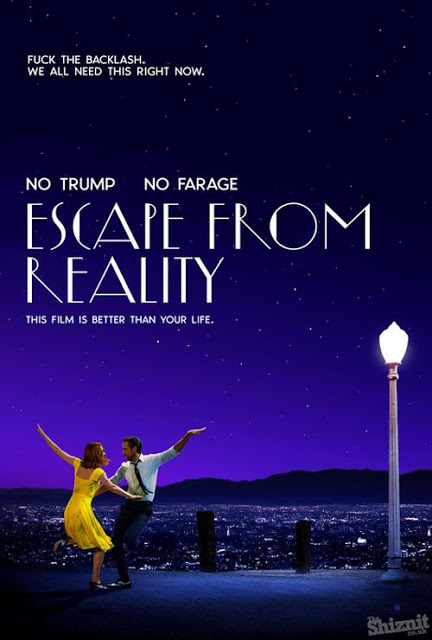 Póster honesto La La land