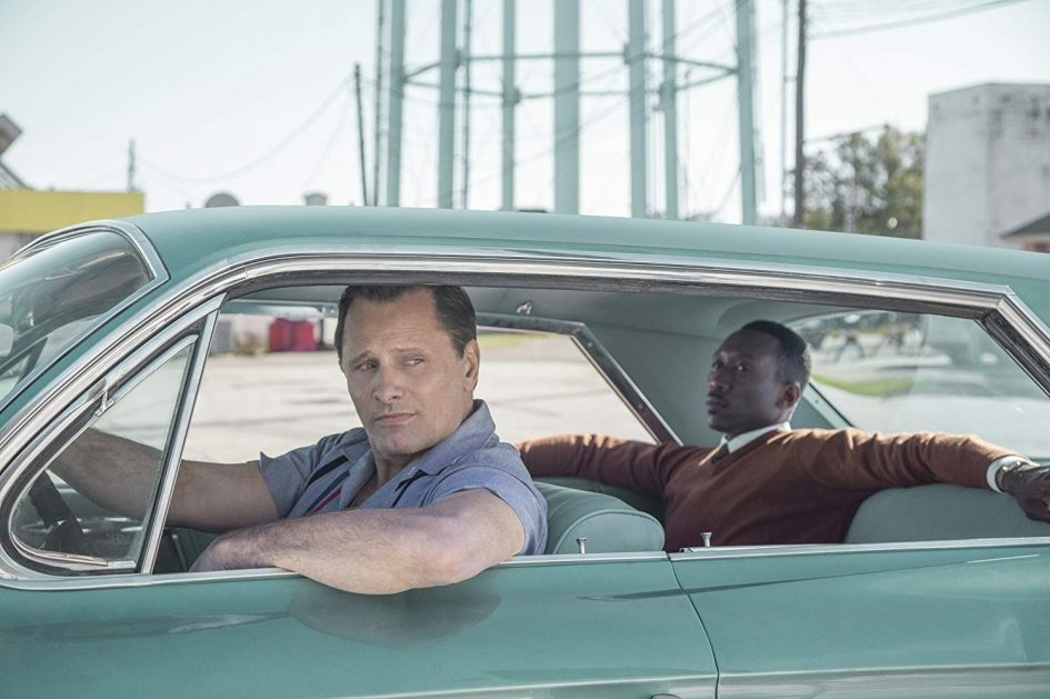 Viggo Mortensen y Mahershala Ali en Green Book