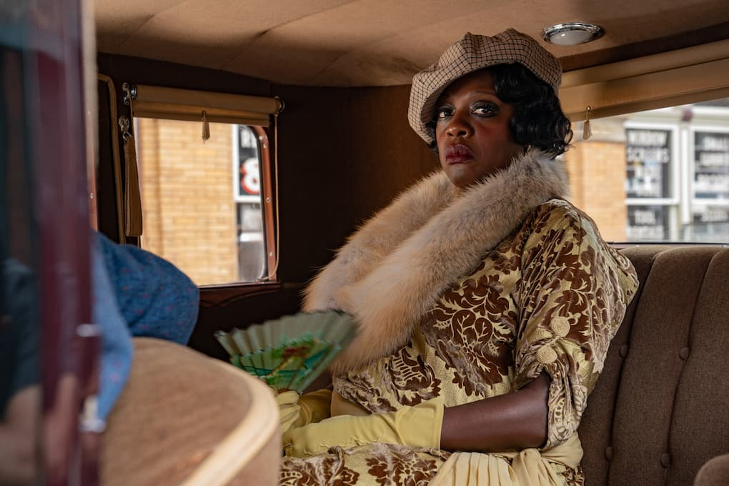 Viola Davis en La madre del blues
